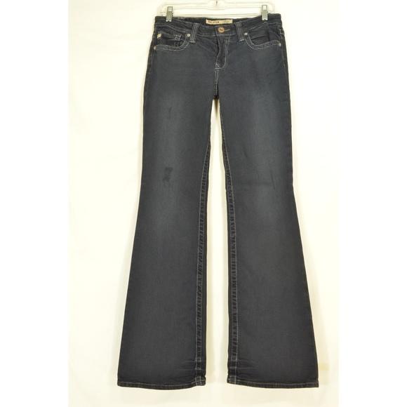 Big Star Denim - Big Star jeans 28 x 34 Maddie black mid rise fit l